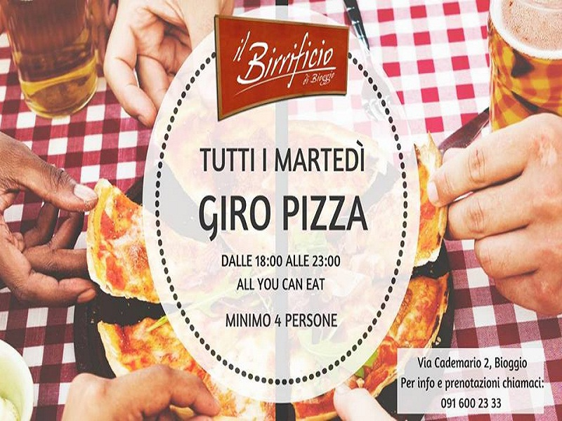 GiroPizza a €12,00 - SMOOVE RESTAURANT DRINK